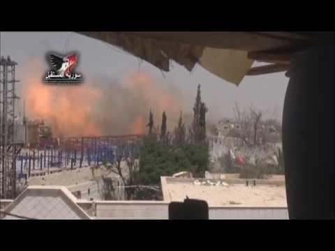 Syrian Army destroys tunnels' network for Jaish al-Islam in Harasta, Damascus Countryside