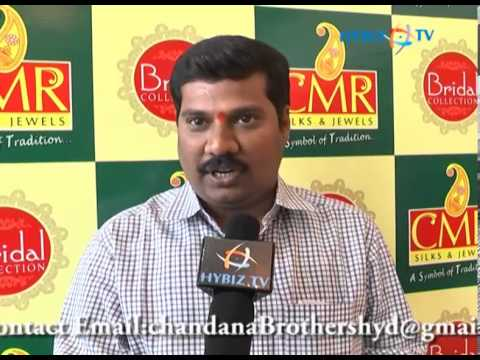 Malli Babu at CMR New Bridal Collection Launch