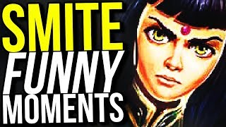 PLAYING VOLLEYBALL WITH GODS! (Smite Funny Moments)
