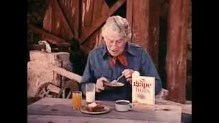 VINTAGE EUELL-GIBBONS POST GRAPE NUTS - VISITING OZARK COUNTRY (JED CLAMPETT & ELLY MAE COUNTRY)
