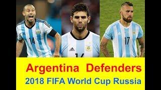Argentina Defenders Skills,  2018 FIFA World Cup Russia, Mascherano, Otamendi, Fazio