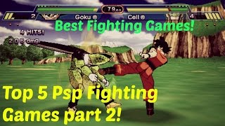 Top 5 best PSP Fighting Games! Part 2!