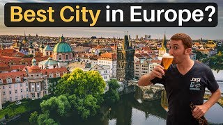 Why PRAGUE is the BEST CITY in EUROPE