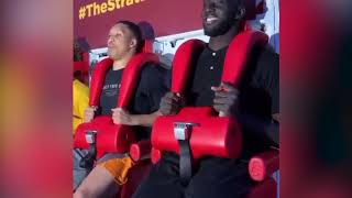 FUNNY! Tacko Fall Rides Amusement Park Ride