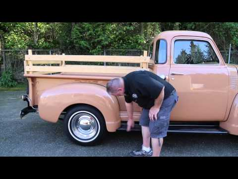 1949 Chevrolet 5 window 3100 Pickup