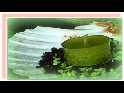 Горящая свеча  для расслабления и медитаций /Live candle for meditation
