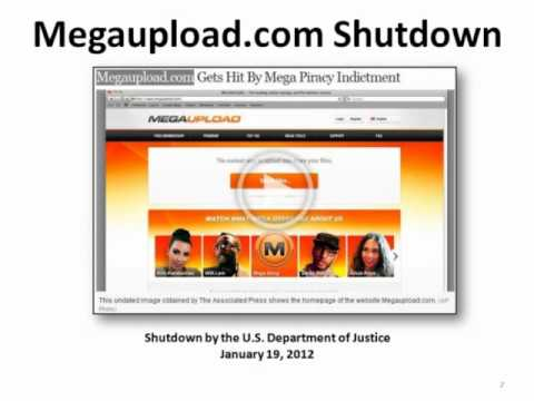 The Rise and Fall of Megaupload.com and Kim Dotcom