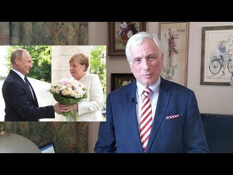 Букет для Ангелы Меркель