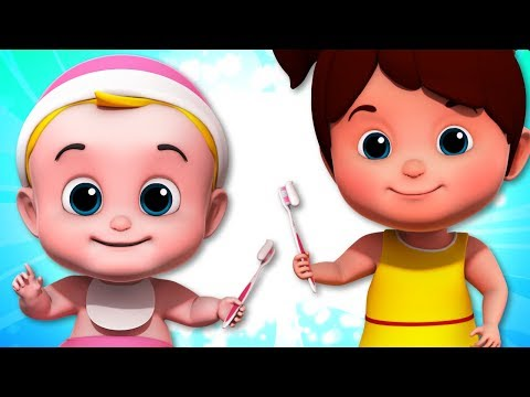This The Way We Brush Our Teeth | Nursery Rhymes | Baby Songs | Children Rhyme