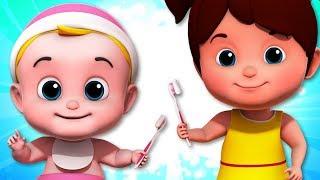 This The Way We Brush Our Teeth | Nursery Rhymes | Baby Songs | Children Rhyme