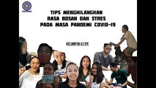 TIPS MENGHILANGKAN RASA BOSAN DAN STRES PADA MASA PANDEMI COVID-19