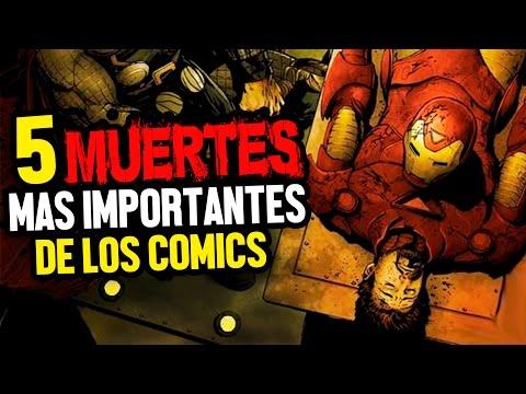 Las 5 Muertes mas Importantes de los Cómics