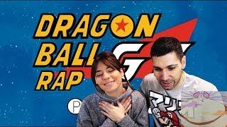 DRAGON BALL GT RAP   PORTA   REACCIÓN