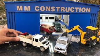 Unboxing of Mini Mahindra Bolero Pickup Diecast Car | Off-Roading | Accessories by Mahindra Rise