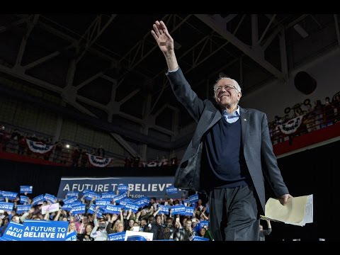 Thousands rally for Sanders before Iowa caucuses, in 360º
