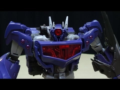 Transformers Prime Beast Hunters Voyager SHOCKWAVE: EmGo's Transformers Reviews N' Stuff