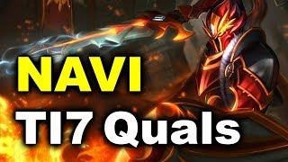 NAVI vs DD Comanche - TI7 CIS Quals DOTA 2