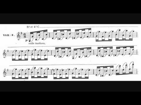 Antonio Bazzini - Le Carillon d'Arras, Op. 36