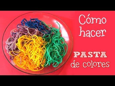 Pasta de colores | Minchefs Cocina para niños