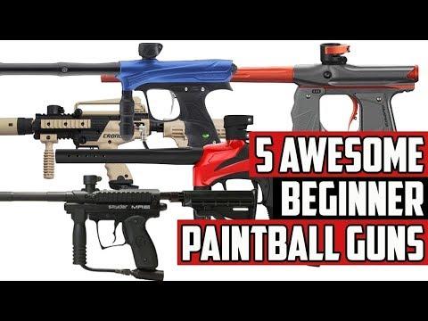5 Awesome Beginner Paintball Guns - 4K