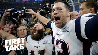 Tom Brady and the Patriots are more 'vulnerable' than ever in 2019 - Todd McShay | First Take