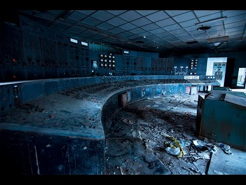 ABANDONED POWER PLANT (Chernobyl style Control Room)