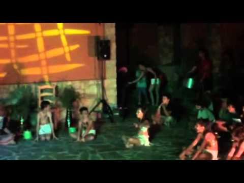 Baile campamento Valverde del fresno