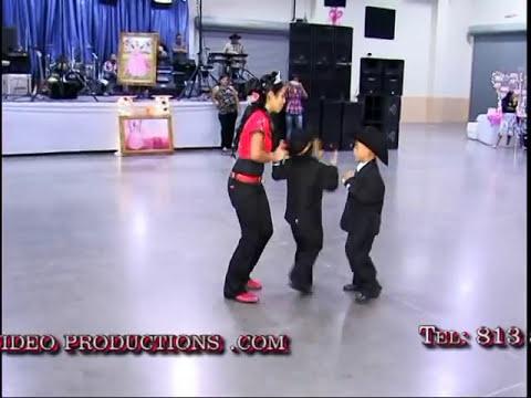 baile sorpresa de liliana con sus hermanos cuates