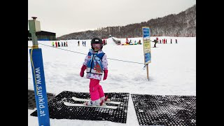 Winter holiday Hannah 5 year old Ski Niseko Japan Hokkaido 2018 Dec