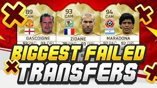 BIGGEST FAILED SIGNINGS IN FOOTBALL!!
