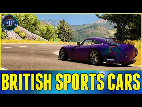 Let's Play : Forza Horizon 2 - BRITISH SPORTS CARS!!! (Part 34)