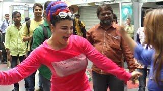 Rakhi Sawant shows her INSANE Dance Moves   Full Video