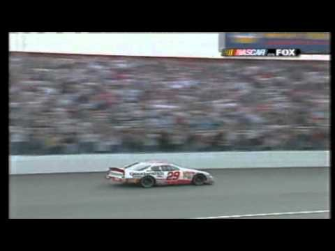 Kevin Harvick edges out Jeff Gordon Atlanta 2001.