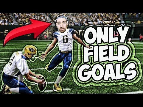 CAN I WIN A GAME ONLINE ONLY KICKING FIELD GOALS? MADDEN 17 CHALLENGE