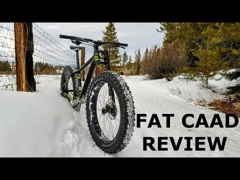 Cannondale FAT CAAD Bike Review