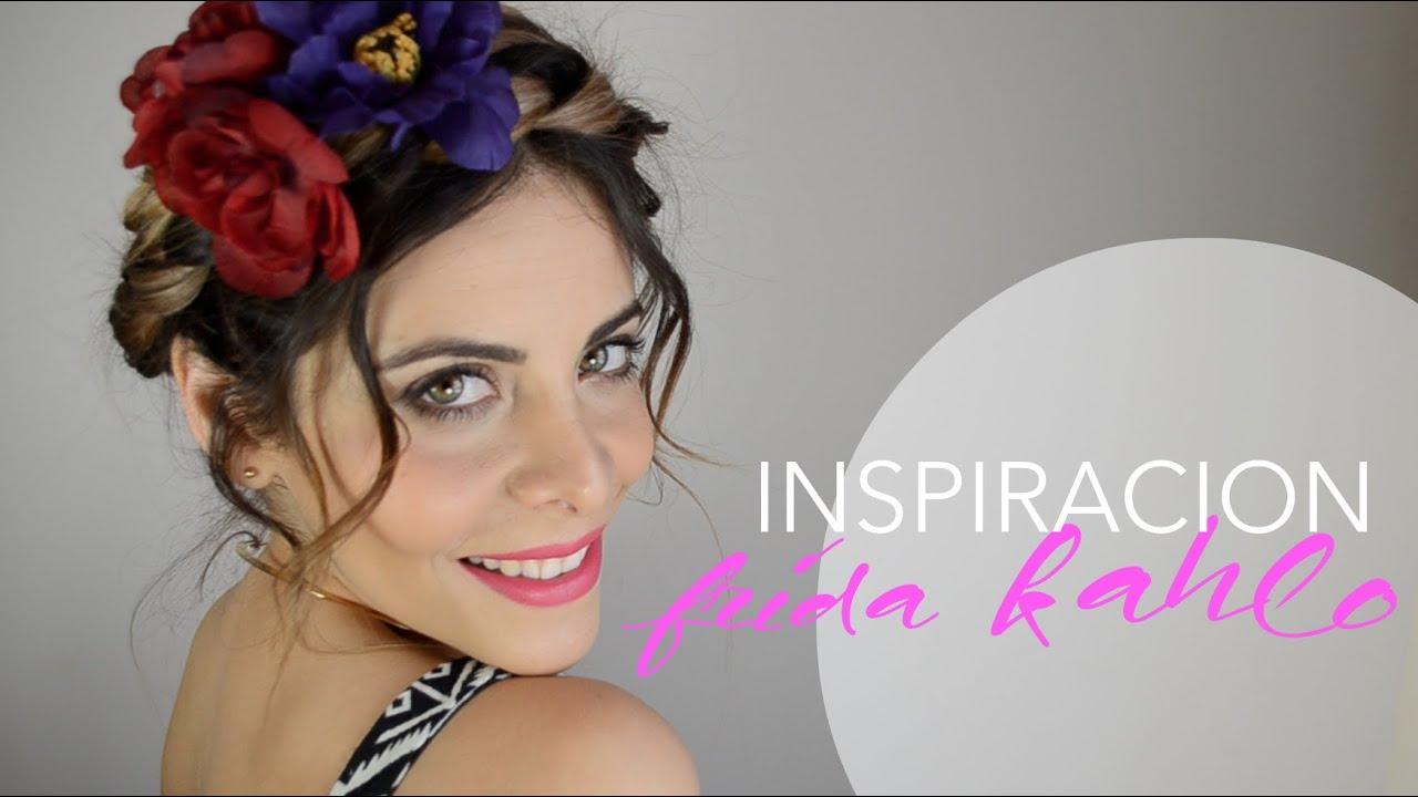 Miss Cucu Peinados Faciles Inspirados En Frida Kahlo Youtube