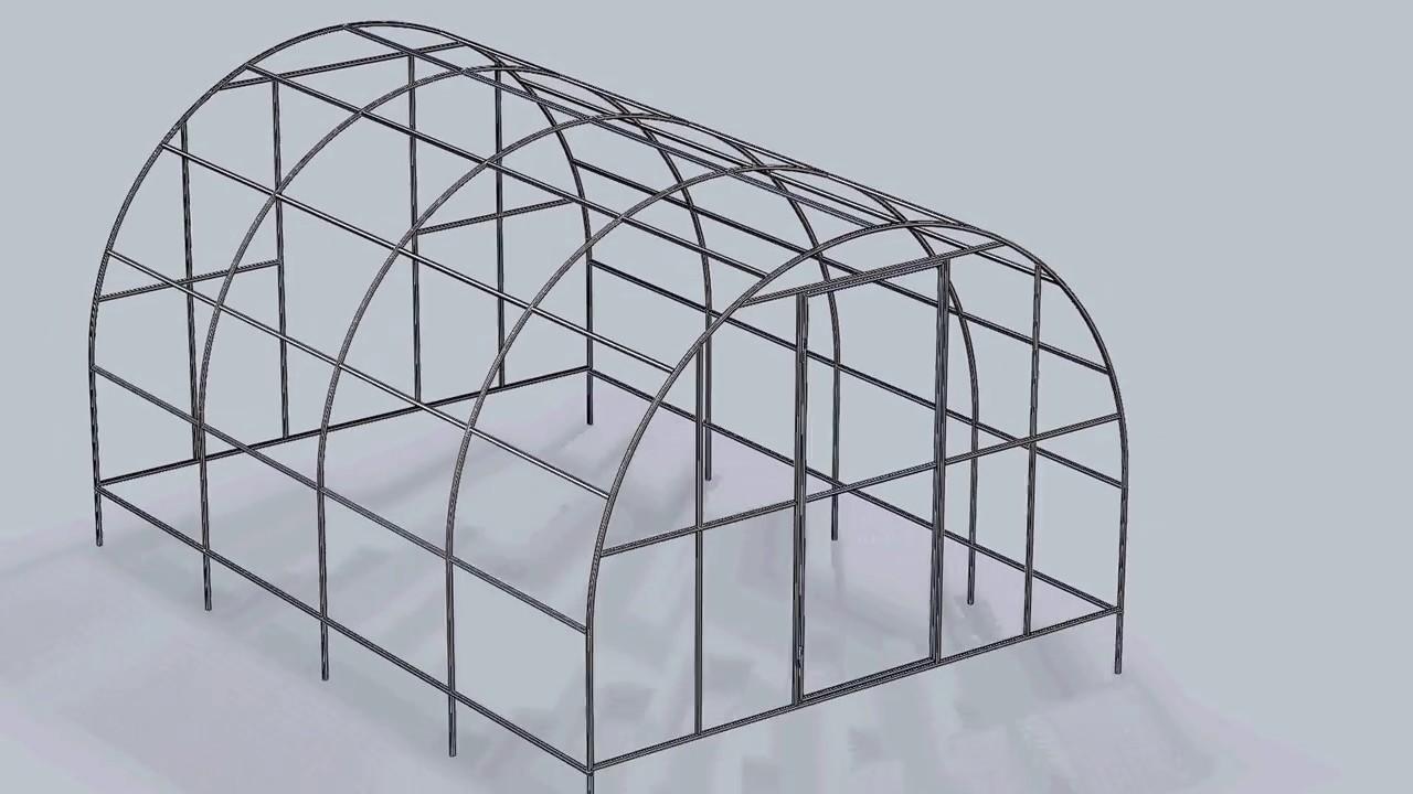 Как мне сделать арка из профильной трубы своими руками 3