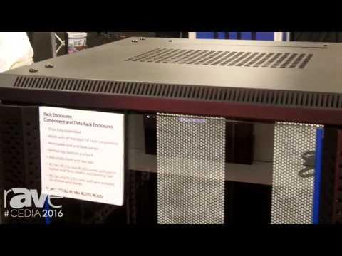 CEDIA 2016: Crimson AV Talks About Wall and Floor Rack Enclosures