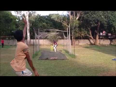 FAN Tribute to MS Dhoni - The Untold Story (Cricket Net Session)