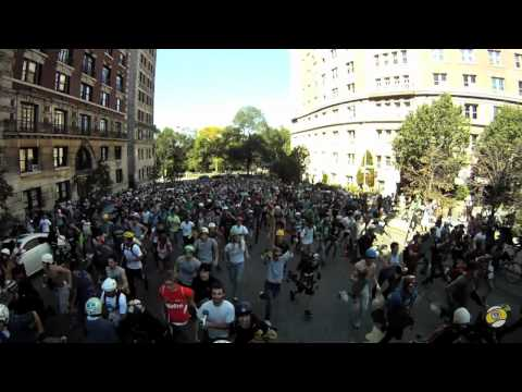 Broadway Bomb 2011: Start Line