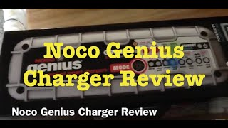 Noco genius Smart Charger Review
