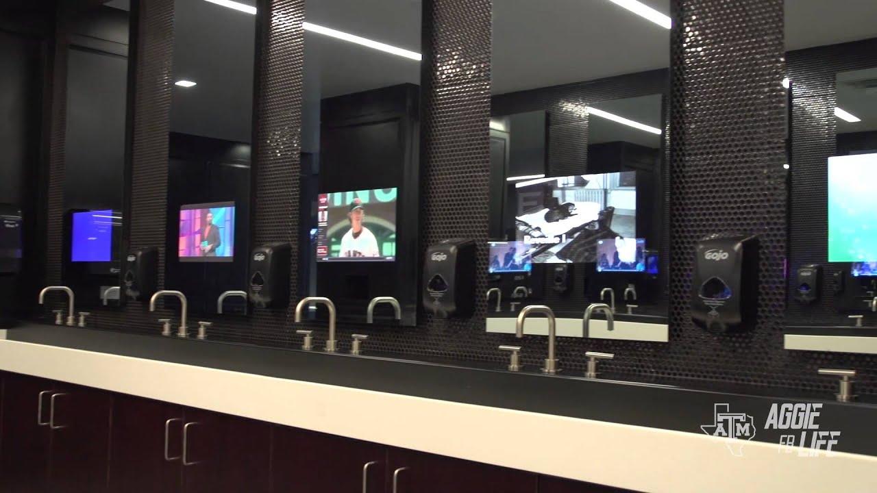 Texas A Amp M New Locker Room Reveal Youtube