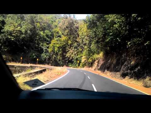 Bangalore to Goa (Descent to Goa after crossing Karnataka border)