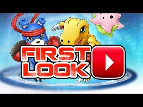 Digimon Masters Gameplay Commentary - First Look Preview HD