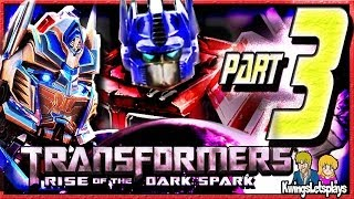 Transformers Rise of the Dark Spark Walkthrough Part 3 Crystal Guardians