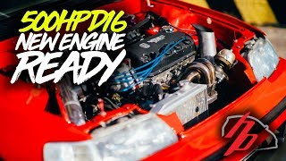 500HP D16 Ebay Turbo CRX Gets Refreshed