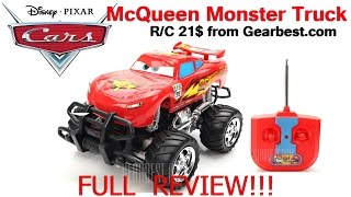 Disney Cars - Lightning McQueen Monster Truck from Gearbest.com