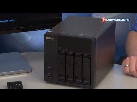 QNAP TS-469L NAS met mediaspeler review - Hardware.Info TV (Dutch)