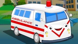 Ambulance Song  Kids Nursery Rhymes  Baby Videos