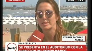 Viviana Saccone en exclusiva desde Mar del Plata